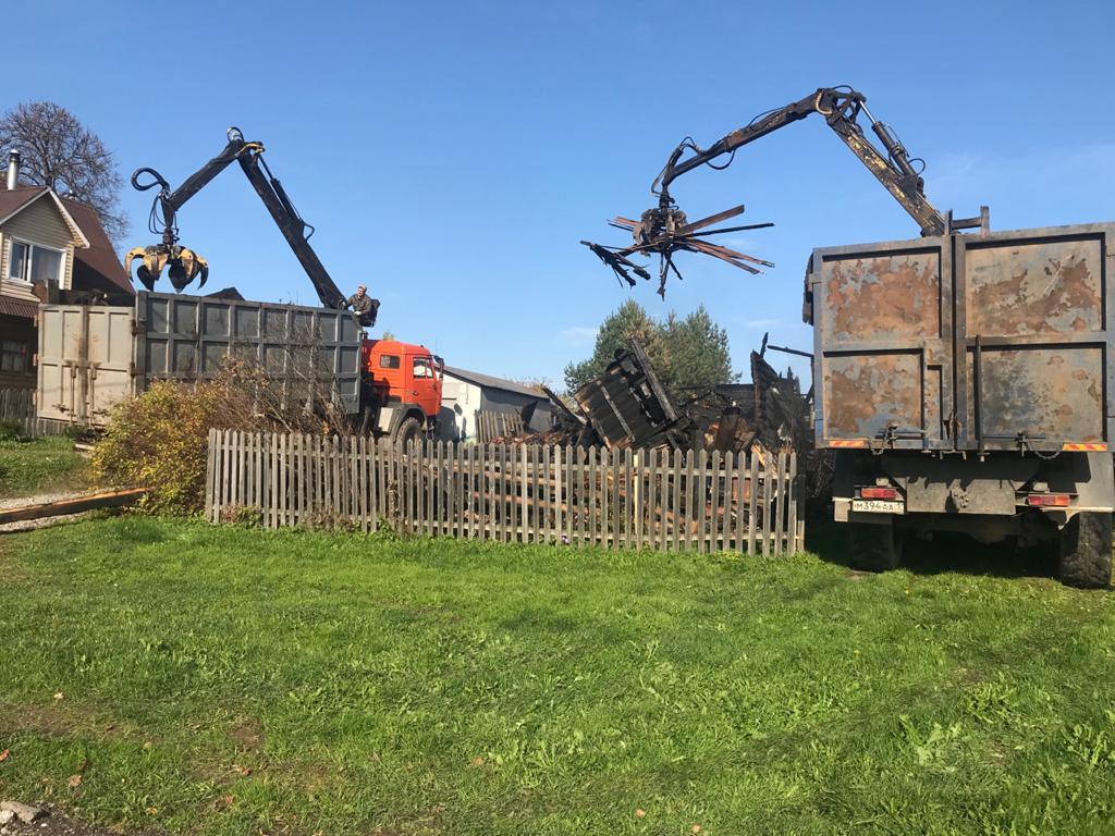 Быстрый снос деревевянных домов в Череповце и окрестностях
